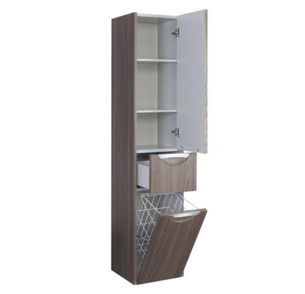 Сильва шкаф-колонны левый дуб макиато1A215603SIW5L