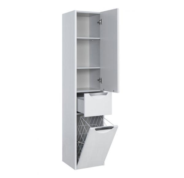 Сильва шкаф-колонны левый дуб полярный 1A215603SIW7L