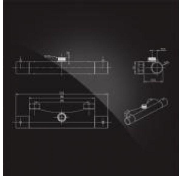 TERMO Смеситель с термостатом, хром 6500857-MH