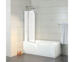 Шторка на ванну Life 1 800*1350 матовая