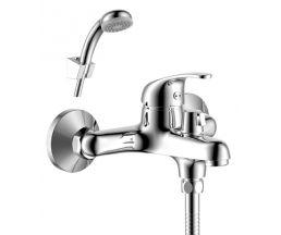 Y35-30 Смеситель одноручный (35 мм) для ванны с коротким изливом, дивертор с керамич пластинами