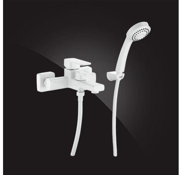 Mondschein Смеситель для ванны однорычажный с д/к 2320235-White