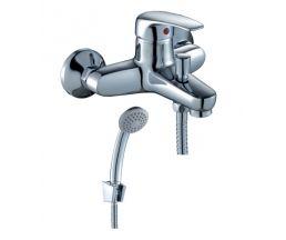 F40-31 Смеситель одноручный (40мм) для ванны, с коротким изливом, хром