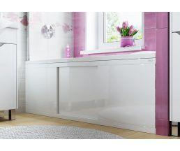 Экран под ванну 1,5м МДФ купе Crystal белый
