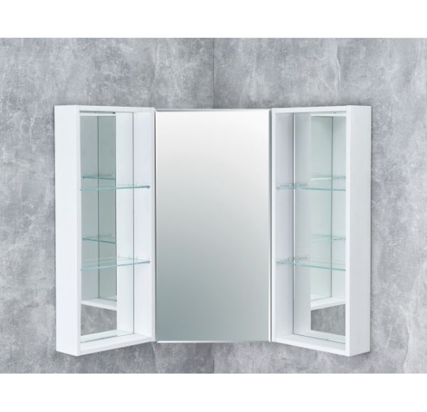 Кантара боковой модуль зеркального шкафа Дуб Полярный 1A205802ANW70
