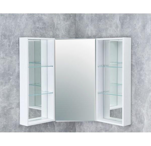Кантара зеркальный модуль угловой Дуб Полярный (центральный модуль+ 2 боковых модуля) 1A2057K2ANW70