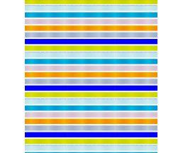"C2018T025 Штора для ванной комнаты ""Fancy stripes"" 200x180 см, 100% полиэстер, с утяжелителем"