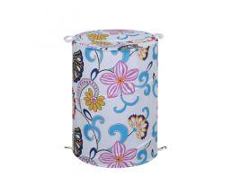 "B4255T027 Корзина для ванной комнаты ""Sunny meadow"" 42*55 см, 100% полиэстер, водонепроницаемая"