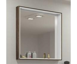 Фабиа 80 зеркало-шкаф 1A166902FBAF0 белый/дуб инканто