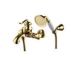 LM4712G BRAVA Смеситель для ванны с коротким изливом, золото