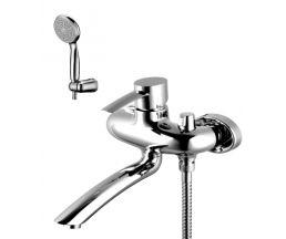 """LM3214С """"Атлантисс"""" Смеситель для ванны с поворотным изливом, хром"""