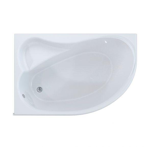 Ялта MIRSANT  ванна 170*100 левая, каркас с установочным комплектом, фронтальная панель