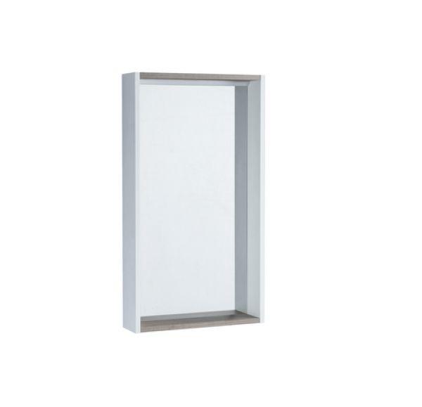 Бэлла зеркальный шкаф Белый/Джара 1A221702BBAZ0