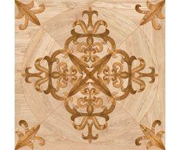 Версаль Деко коричневый керамогранит 45х45 (738562)