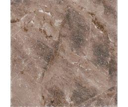 Лава коричневый тёмный керамогранит 45х45 (739563) в пачке 4 принта