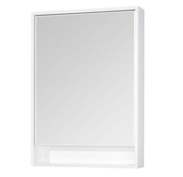 Капри 60 зеркало-шкаф белый 1A230302KP010