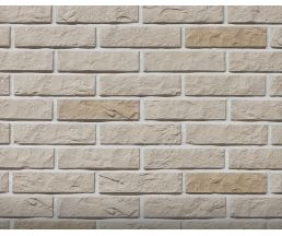Дикий кирпич Бежевый 210х54х6 Декоративный камень Гипс для внутренней отделки