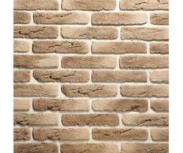 Старый кирпич Ореховый 280х63х10 Декоративный камень Гипс для внутренней отделки