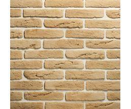 Старый кирпич Охра 280х63х10 Декоративный камень Гипс для внутренней отделки