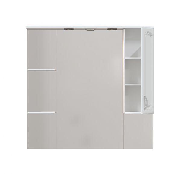 Мия  105 зеркало-шкаф с одним ящиком 105*100 правый