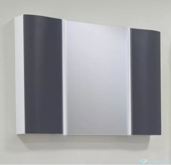 Ондина 100 зеркало-шкаф графит 1A176102ODG20