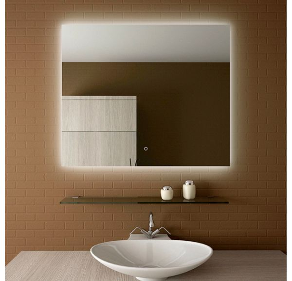 Glassy зеркало 1000х800