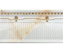 NC Royal Alzata Ornato Gold Бордюр настенный рельефный 15,6x30