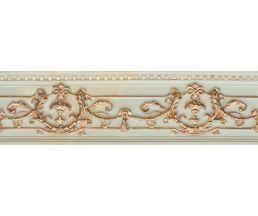 NC Royal Listello Ornato Gold Бордюр настенный рельефный 9x30