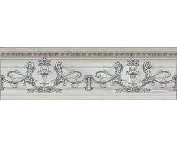 NC Royal Listello Ornato Silver Бордюр настенный рельефный 9x30