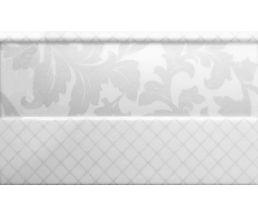 Moncada White Zocalo Бордюр 15x25 BW0MWZ00