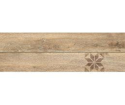 Ornamentwood Cers Керамогранит Бежевый Декор глазурованный матовый 59,8*18,5 C-OW4M013D