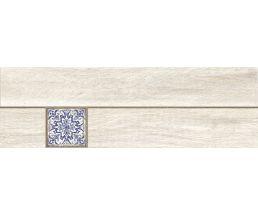 Ornamentwood Cers Керамогранит Белый Декор глазурованный матовый 59,8*18,5 C-OW4M053D