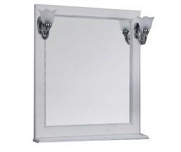 Жерона 85 зеркало белое серебро 1A158702GEM20+2 свет Isabel
