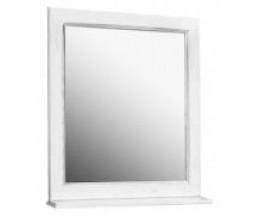 Жерона 85 зеркало белое серебро 1A158702GEM20