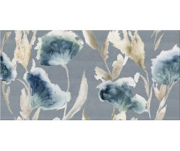 Aura Atlantic Floris Декор Голубой 315х630