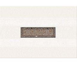 Камлот Мокка Крэш Декор Бело-коричневый 405х278