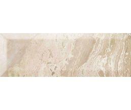 Petra Gold Brillo Bisel Плитка настенная бежевая глянцевая 10*30
