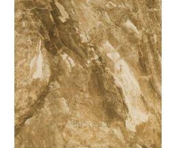 Bahrein Marron Плитка напольная коричневая глянцевая 45*45