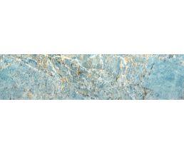 Aqua Turquoise Плитка настенная многоцветная глянцевая 120*30