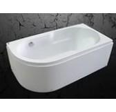 Ванна акриловая 140*80 белая Абрау MIRSANT правая