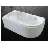 Ванна акриловая 150*80 белая Абрау MIRSANT левая