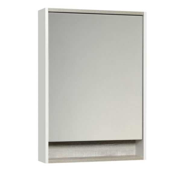 Капри 60 зеркало-шкаф бетон пайн 1A230302KPDA0
