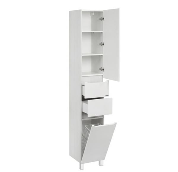 Дакота шкаф-колонна белый/выбеленное дерево 1A203203DAAY0