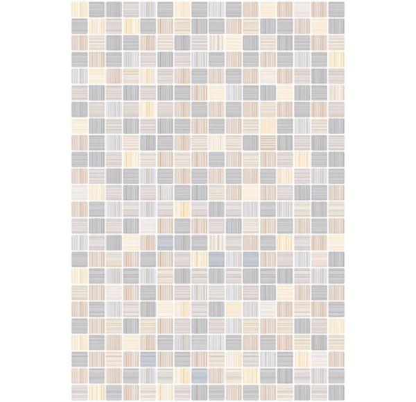 Гламур 7С  Плитка настенная белая глянцевая 400х275