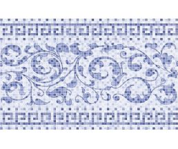 Бильбао Плитка настенная голубая Декор 09-00-61-1026 400х250х8