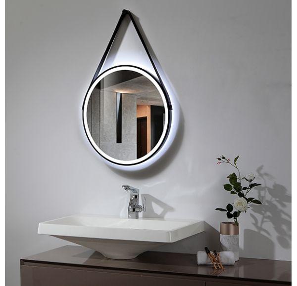 ETNA зеркало на ремне круглое 600*600