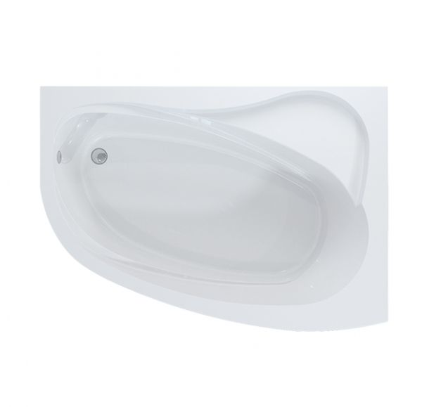 Ванна 150*109 белая Аллегро правая