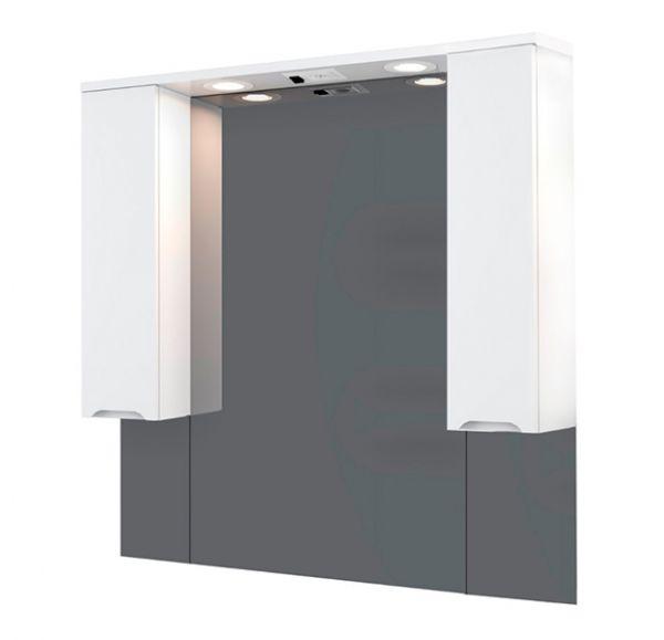 SOHO 100 зеркало-шкаф с двумя ящиками