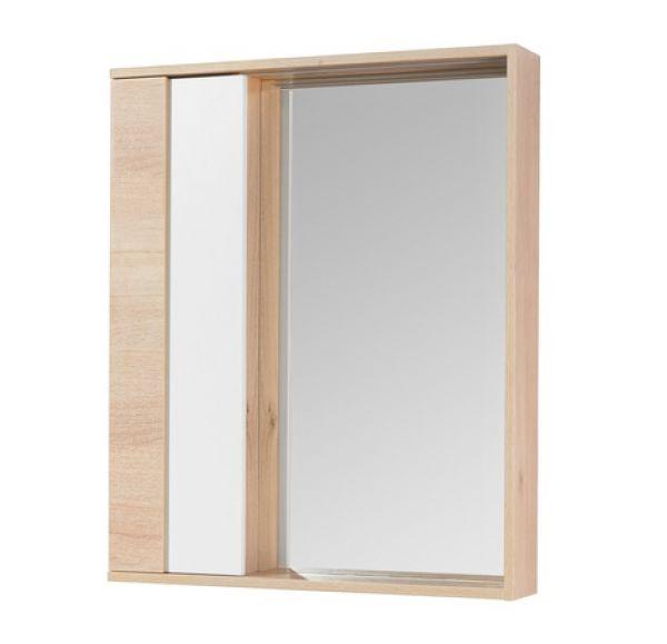 Бостон 60 зеркальный шкаф дуб эврика 1A240202BN010