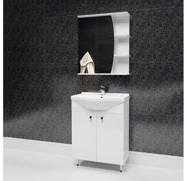 Фарида 20 зеркало-шкаф 60*70 Парус левый